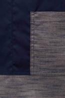 detalle tejido vigore azul marino