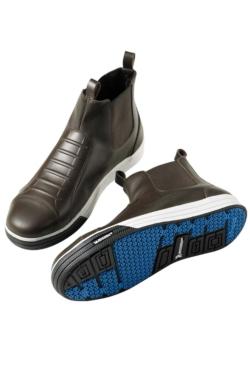 sabates de xef marrons mas uniformes