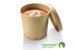 Soup cup kraft 475 ml Ø98 (500 u.) - Ítem1