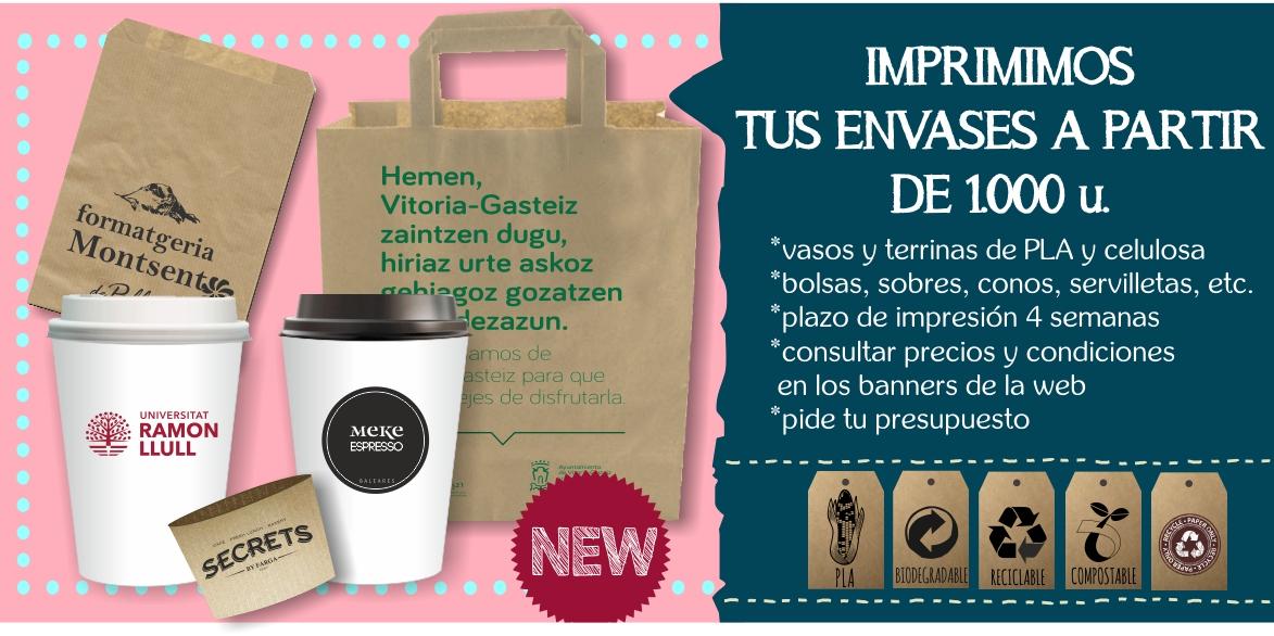 0f2bd6964 Envases Ecológicos y Biodegradables | Comprar online en ECOOLOGIC