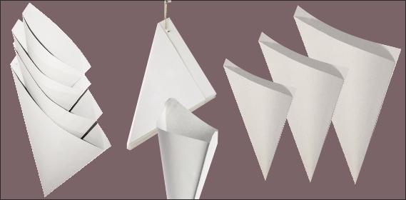 Paperines paper amb punta