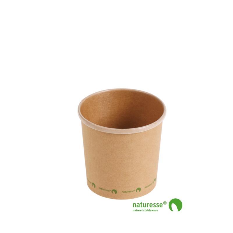 Soup cup kraft 350 ml Ø90 (500 u.)