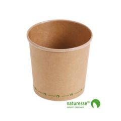 Soup cup kraft 750 ml Ø118 (375 u.)