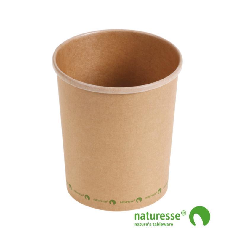 Soup cup kraft 950 ml Ø118 (375 u.)