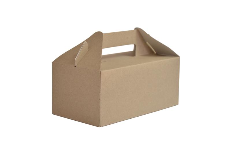 Caja pequeña con asa (125 u.)