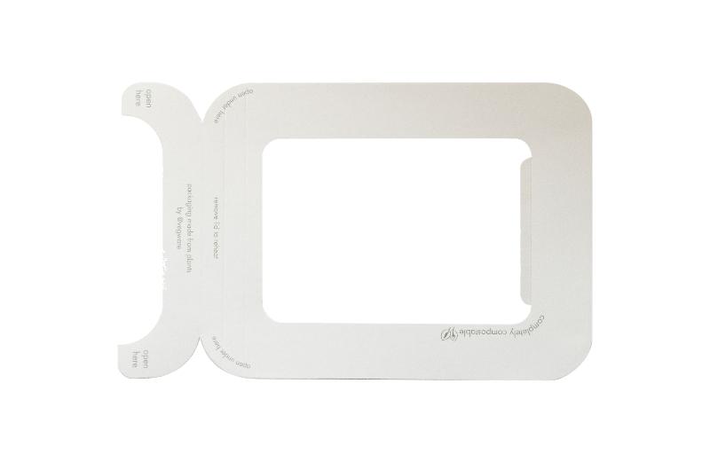 Tapa 2 ventana PLA (500 u.)
