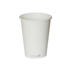 Vaso blanco ECO 350 ml. Ø89 (950 u.)