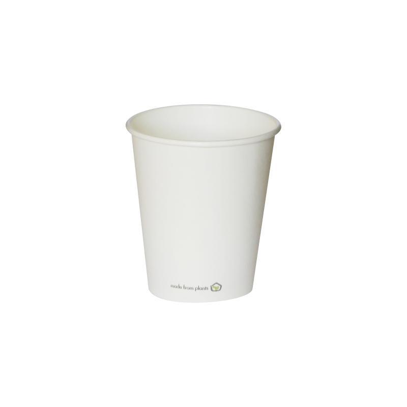 Vaso blanco ECO 175 ml. Ø72 (950 u.)