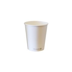 Vaso blanco ECO 175 ml. Ø72 (1.000 u.)