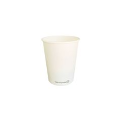 Vaso blanco ECO 175 ml. Ø70 (1.000 u.)
