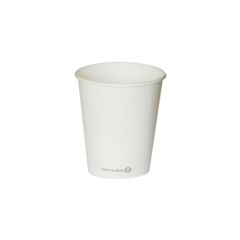 Vaso blanco ECO 175 ml. Ø72 (950 u.)
