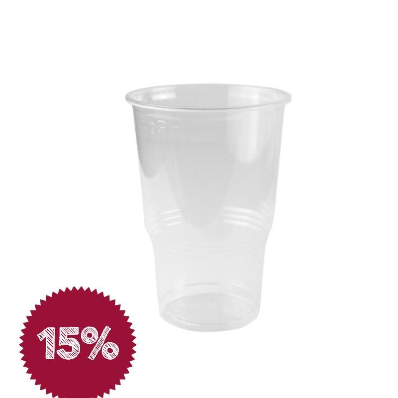 Vaso 1/2 pinta 240 ml. (2.100 u.)