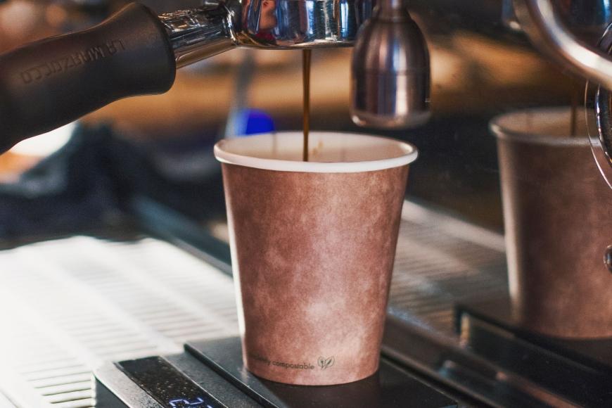 El café para llevar se sube al tren de los vasos desechables ecológicos 2