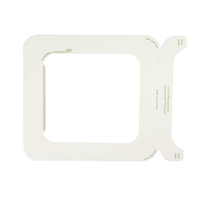 Tapa 4 ventana PLA 22/32 oz. (600 u.)