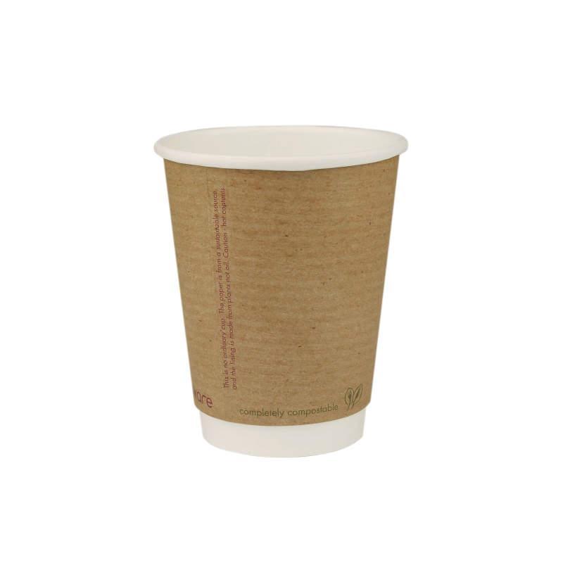 Vaso doble/kraft 350 ml. Ø89 (500 u.)