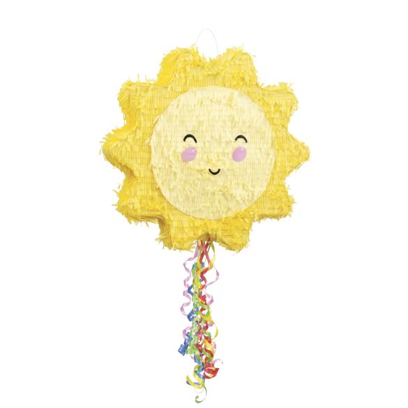 Piñata artesana sol