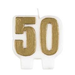 Vela aniversario 50 años