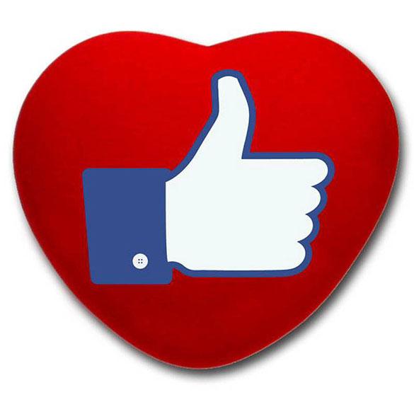 Cojín corazón rojo emoticono