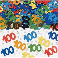 Confeti metálico 100 años