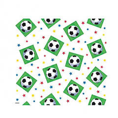 Mantel Fútbol 259 x 137 cm plástico, Pack 1 u.