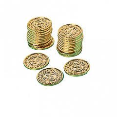 Monedas oro, Pack 72 u.