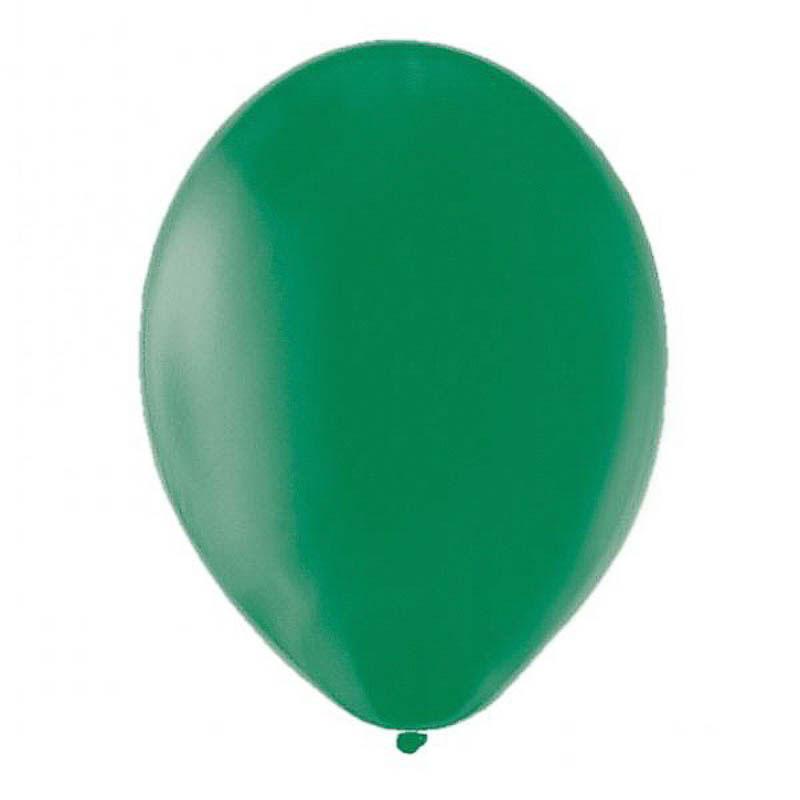 Globos de Látex Verdes. Pack 10 unidades