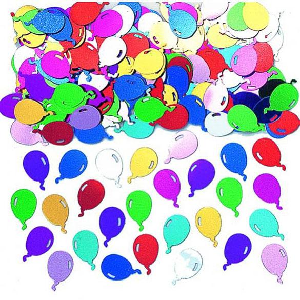 Confeti metálico globos