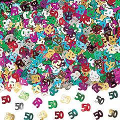 Confeti metálico 50 años
