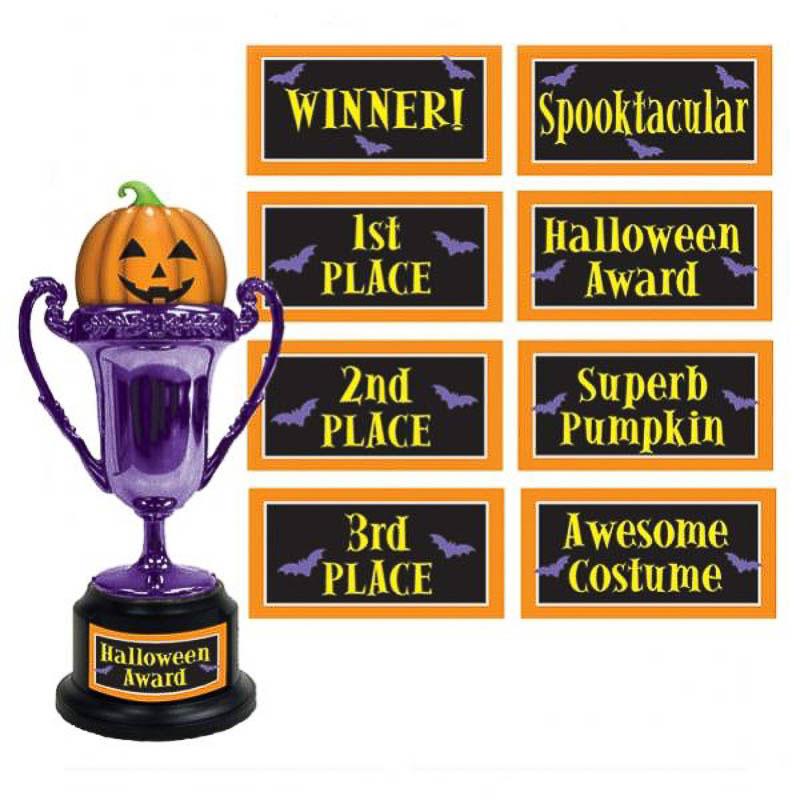 Copa trofeo Halloween