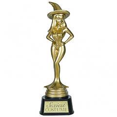 Trofeo bruja Halloween