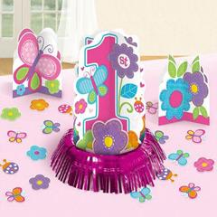 Centros de mesa 1ª cumpleaños, Pack 3 u.
