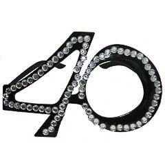 Gafas modelo 40 años con brillantes