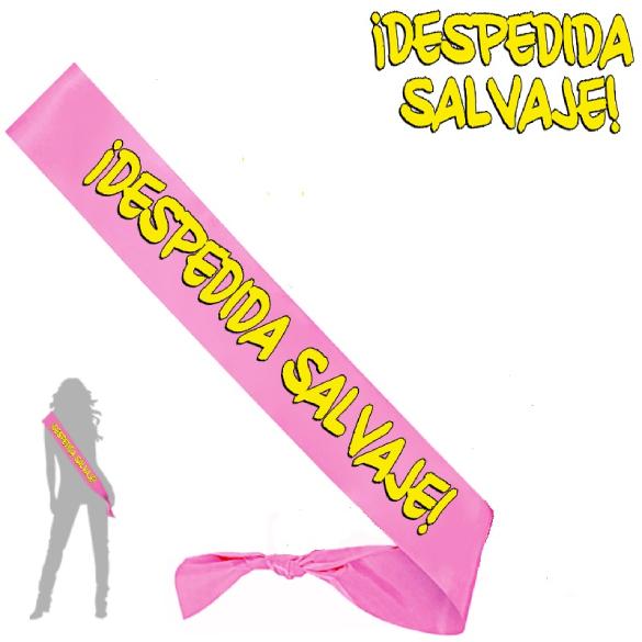 Banda Despedida Salvaje rosa