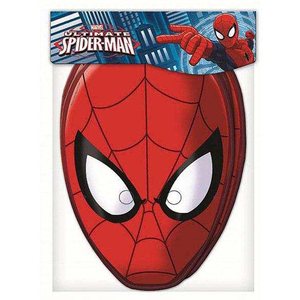 Careta Spiderman, Pack 6 u.