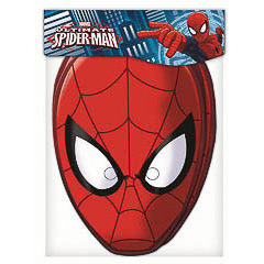 Careta Spiderman, Pack 6 u.
