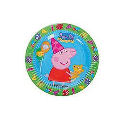 Platos Pepa Pig 18 cm, Pack 8 u.