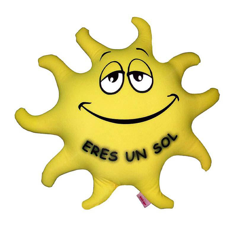 Cojín sol grande Eres un sol