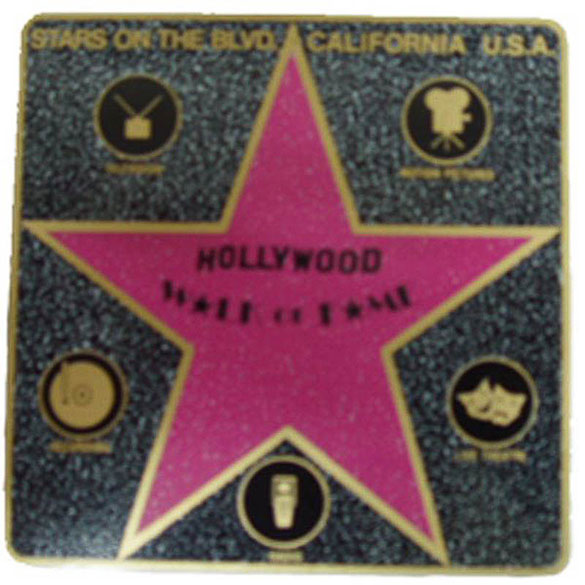 Posavasos Estrella Hollywood, Pack 12 u.