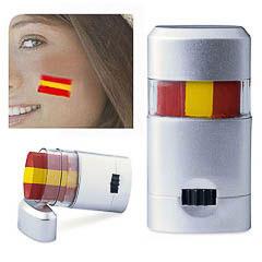 Piinturas para la cara roll on bandera de España