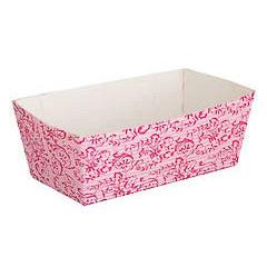 Molde rectangular para horno desechable 12 x 2,5 x 2 cm