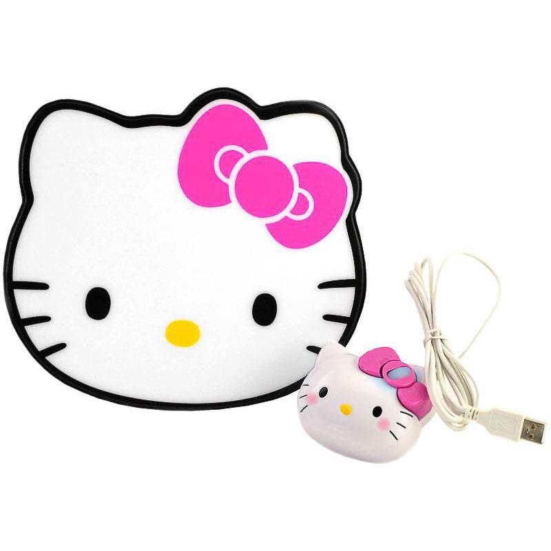 Ratón USB con alfombrilla