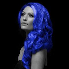 Spray pelo azul