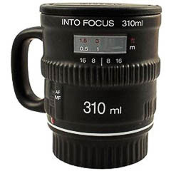 Taza termo modelo objetivo cámara de fotos - Ítem