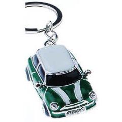 Llavero coche Mini Cooper verde