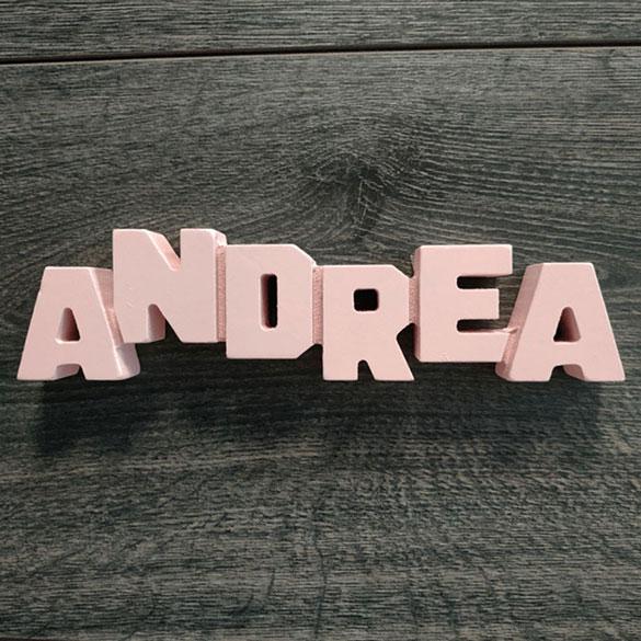 Nombre Decorativo Andrea Regalos Originales