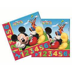 Servilletas Mickey Mouse 33 x 33 cm, Pack 20 u.