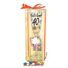 Copa y confeti 40 años