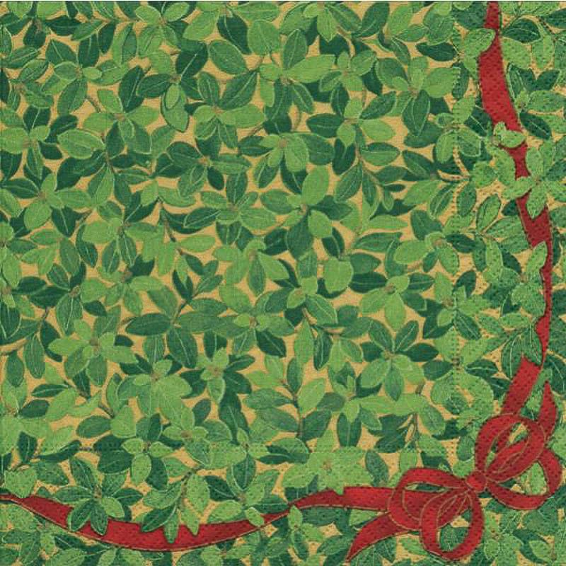 Servilletas Liberty flores 33 x 33 cm, Pack 20 u.