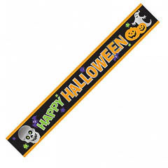 Pancartas Happy Halloween, Pack 3 u.