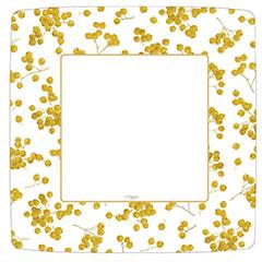 Platos Navidad cuadrados 26,00 cm, Pack 8 u.